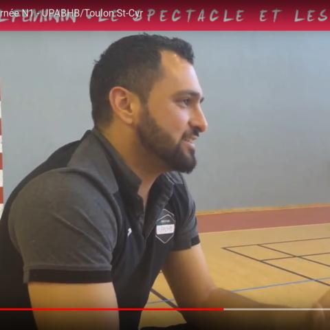 Mot du coach  UPABHB-Toulon