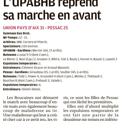 UPABHB31-PESSAC25