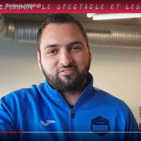 MOT DU COACH Toulouse/UPABHB