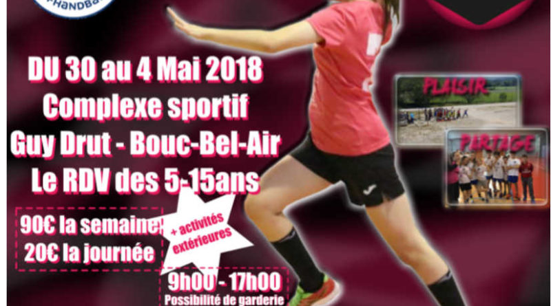 STAGE HANDBALL VACANCES PAQUES