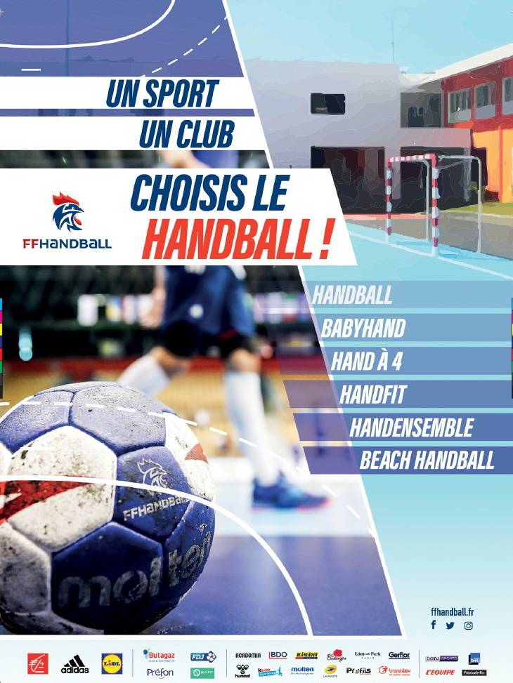 Choisis le HANDBALL